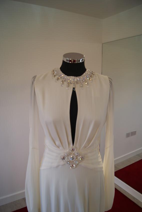 Designer wedding dress sample sale essex the white for Designer sample wedding dresses