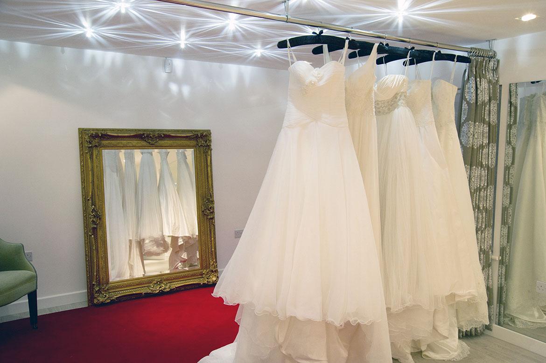 Secret wedding dress sale